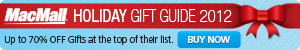 Holiday Gift Guide 2012 at MacMall.com