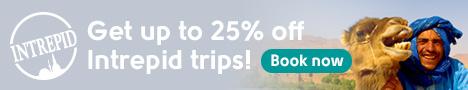 Intrepid Travel 25% off