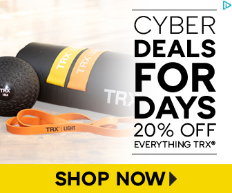 TRX CYBER DEALS - Cyber Deals For Days - 20% Off Site Wide plus FREE Ground Shipping on Orders $99 a
