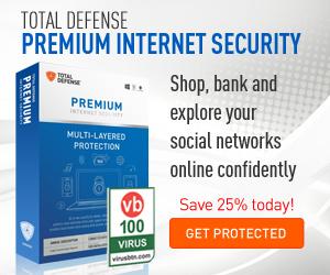 Total Defense Premium Security Antivirus Promotion