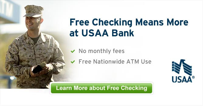 Free Checking Means More at USAA Bank