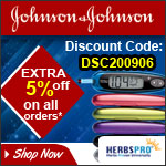 Johnson & Johnson Specials - Additional 5% Off on all orders