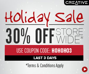 Creative Holiday Sale - 30% Of...