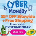 CYBERMONDAY Coupon Banner