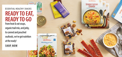 Ready To Eat, Ready To Go! SAVE 5% On Essential Healthy Snacks - Easy & Delicious - From Vital Choic