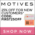 Motives Cosmetics New Year Special!  New Customers get 25% OFF with code FIRST25OFF.