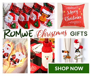 Shop ROMWE for your Holiday Gifts