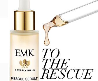Organic skincare - EMK Rescue Serum