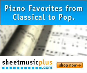 300 x 250 Piano Banner