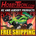 Free Shipping at HobbyTron.com