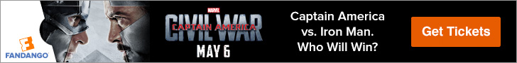 Captain America: Civil War Movie Tickets