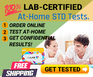 Get Tested for STDs at home with myLAB Box