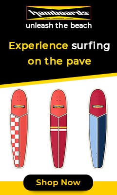 Original Hamboards, SurfSkate boards with Land Paddles