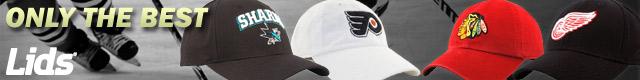 NHL hats and gear at lids.com!