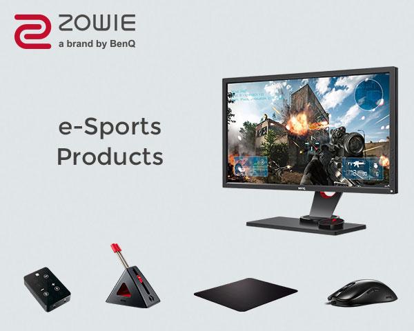 Zowie e-Sports Gear-600x480