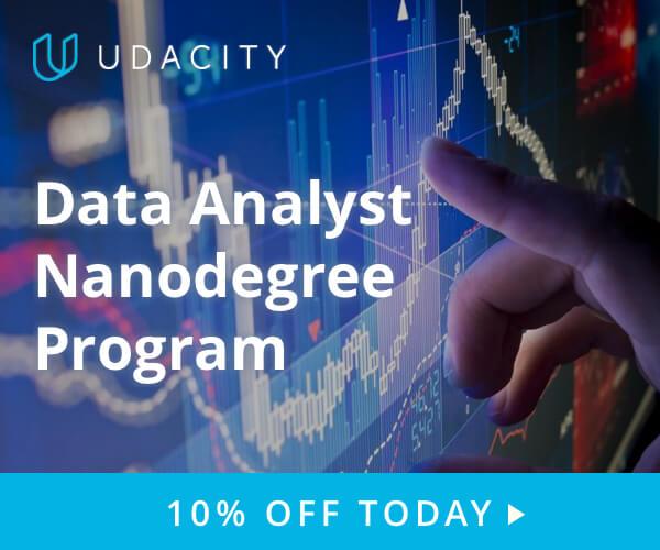 Join udacity Data Analyst program today!