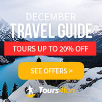 The December Travel Guide is here! Start your Winter Adventures off with up to 20% off trips at Tour