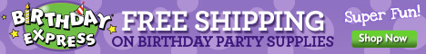 Free Shipping on Birthday Express