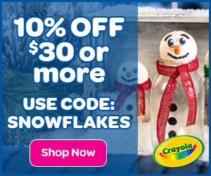 10% Off $30+ with SNOWFLAKES