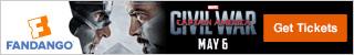 Captain America: Civil War Movie Tickets