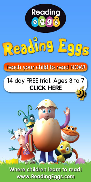 FREE Trial to ReadingEggs.com.