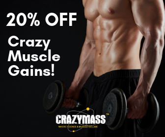 CrazyMass Supplements Promo