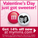 Offer - 14% off all orders - VDAY