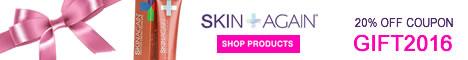20% OFF Coupon GIFT2016 - SkinAgain.com