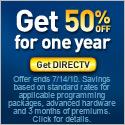 Save over $600. Get DIRECTV.