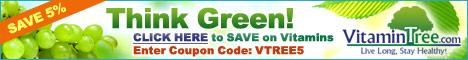 Think Green! Shop at VitaminTree.com