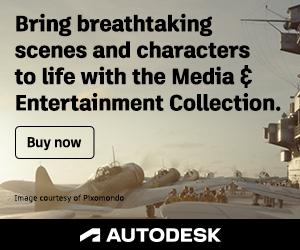 Autodesk Media & Entertainment Collection Subscription 2018