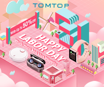 Happy Labor Day | With Up To 50% Off - Tomtop.com