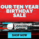 Green Man Gaming 10 Year Birthday Sale!