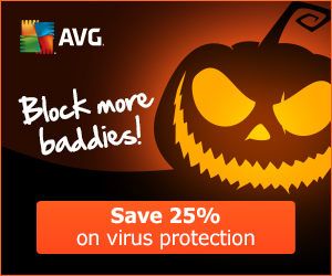 25% OFF AVG Security software: Block more baddies!