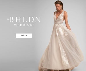 art Deco wedding gowns