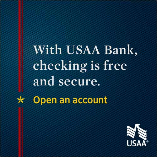 Get More with a Free USAA Secure Checking Account