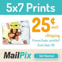 5x7 Prints .25 Cents
