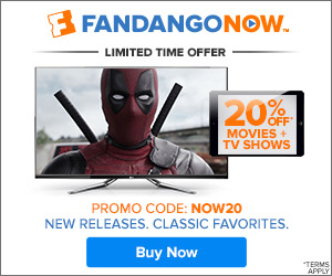 FandangoNOW - 20% off your order with coupon code NOW20
