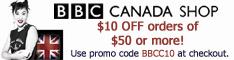 BBC Canada Shop - $10 OFF