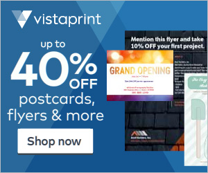 Vistaprint: 500 Post Cards for...