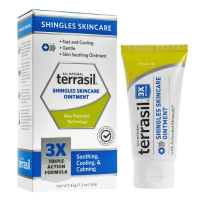 Fast Relief Terrasil Shingles SkinCare