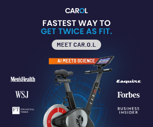 Carol AI-Powered Exercise Bike