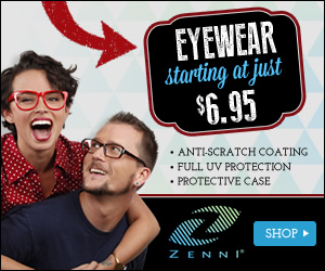 Shop up front low prices on prescription glasses at Zenni Optical. Frames starting at just $6.95.