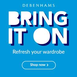 Debenhams designer fashion