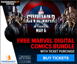 Captain America: Civil War Ticketing GWP