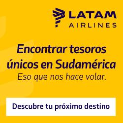 Publicidad aerolínea LATAM