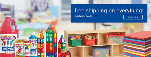 FREE SHIPPING ON EVERYTHING - Even Furniture at Discount School Supply! Use Code: BTS21 At Checkout!