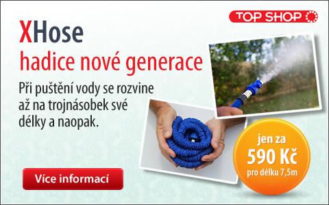 Nová smršťovací hadice XHose od TopShop.cz