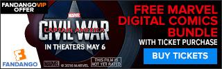 Captain America: Civil War Ticketing GWP