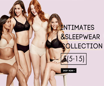 Only $5-$15 Intimates & Sleepwear Collection.